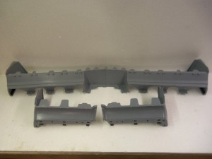FRONT & REAR BUMPER FILLERS  84-87 REGAL