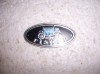 BODY BY FISHER DOOR SILL EMBLEM OVAL STYLE