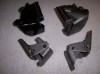 DOOR HINGES SET 4 A/G BODY