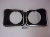 HEADLIGHT BEZELS GMR BLACK 75-78 NOVA SS RALLY SPORT