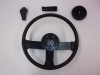 LEATHER WRAPPED STEERING WHEEL WITH HORN PAD, PARK BRAKE HANDLE, SHIFT KNOB 82-89 CAMARO
