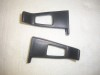 SEAT BELT GUIDES BUCKET SEATS BLACK 78-87 A/G BODY