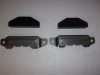 TRANSMISSION CROSS MEMBER BRACKETS & INSULATORS 64-72 A BODY