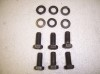 UPPER MOTOR MOUNT BOLTS 6 USED