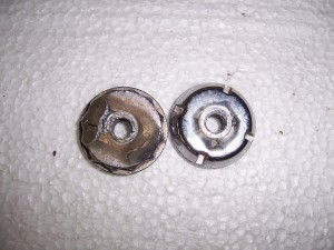 ANTENNA NUT CHROME USED DQ