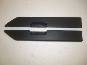 ARM REST PADS BLACK 78-87 GM A/G BODY