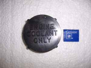 COOLANT BOTTLE CAP GM RESTORATION