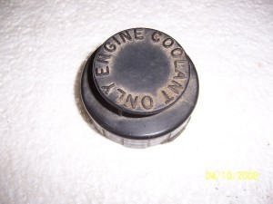 COOLANT BOTTLE CAP USED
