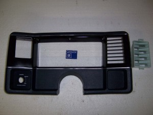 GAUGE POD BEZEL 86-88 DARK BLUE GM RESTORATION