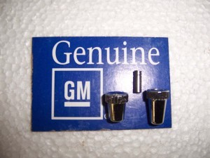 ODOMETER / CLOCK KNOBS NOS GM