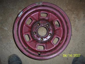 RALLY WHEEL 14X6 USED