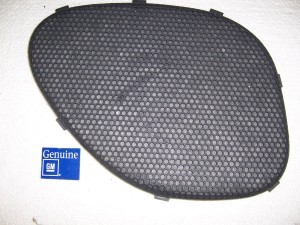 REAR SPEAKER GRILL LH 93-02 CAMARO FIREBIRD  NOS GM