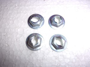 TAILLIGHT LENS NUTS 4 62-64 CHEVY II NOVA