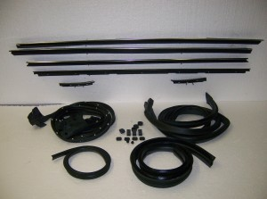 78-87 EL CAMINO WEATHERSTRIPPING SWEEP RUBBER PACKAGE